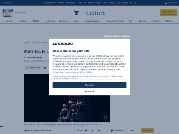 http://www.lefigaro.fr/musique/2016/01/05/03006-20160105ARTFIG00175-mats-ek-le-choc-des-adieux.php