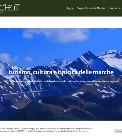 Screenshot of www.lemarche.it