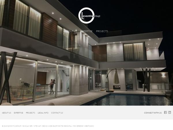 Screenshot of www.leventisgroup.com