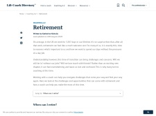 http://www.lifecoach-directory.org.uk/articles/retirement.html