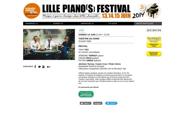 Screenshot of www.lillepianosfestival.fr