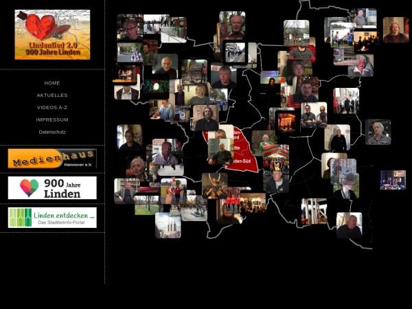 Screenshot von www.lindenlied.de