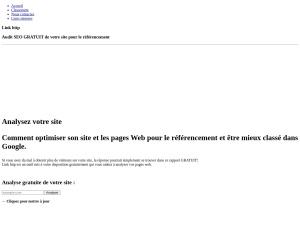 Link http analyse SEO pour un meilleure référencement