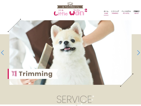 Screenshot of www.little-wan2.com