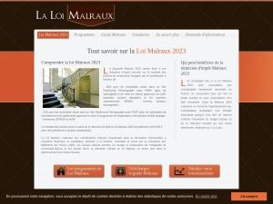 Loi Malraux défiscalisation