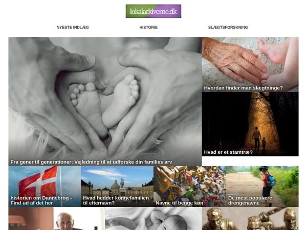 http://www.lokalarkiverne.dk