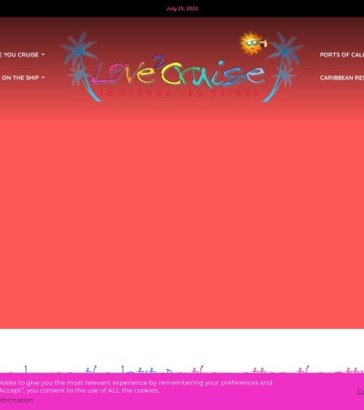 Screenshot of www.love2cruise.org
