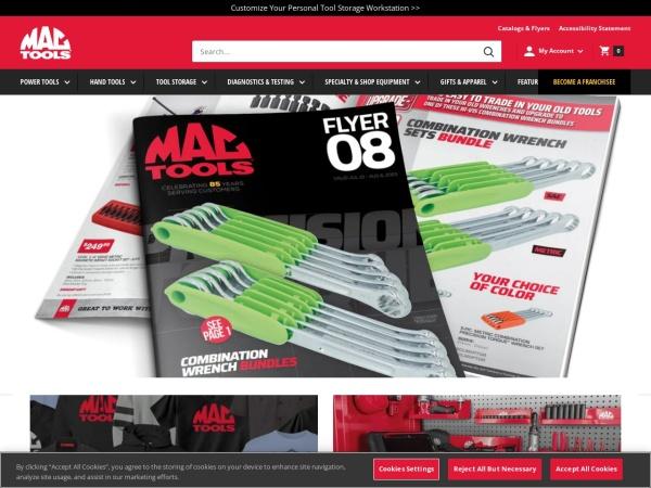 Screenshot of www.mactools.com