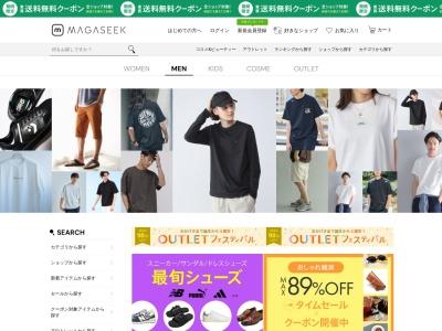 Screenshot of www.magaseek.com