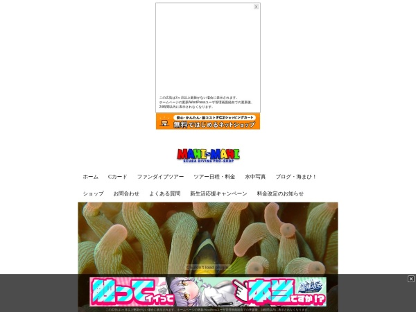 Screenshot of www.mahimahi-japan.jp
