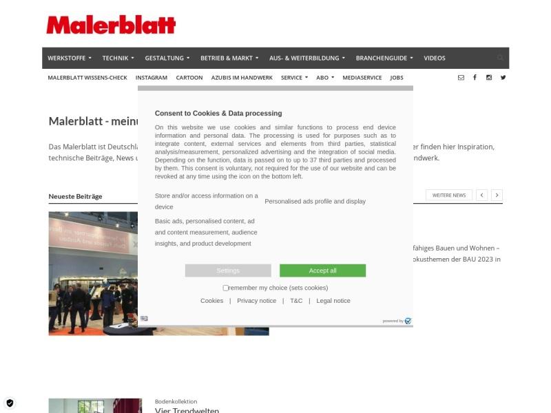 http://www.malerblatt.de