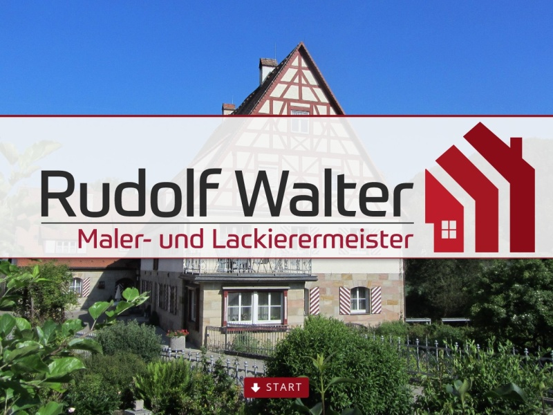 Screenshot of www.malermeister-rudolf-walter.de