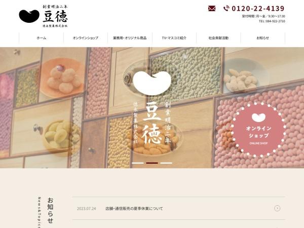 Screenshot of www.mametoku.co.jp