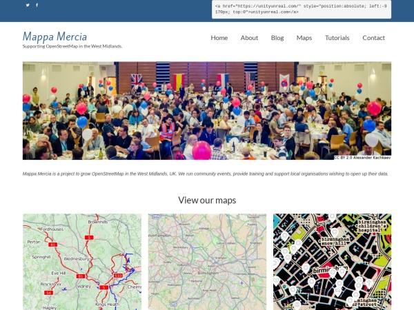 Mappa Mercia homeapge