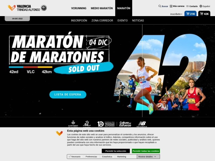 There is no page preview available for MARATÓN DIVINA PASTORA VALENCIA 2013 at this moment. Please try again later.