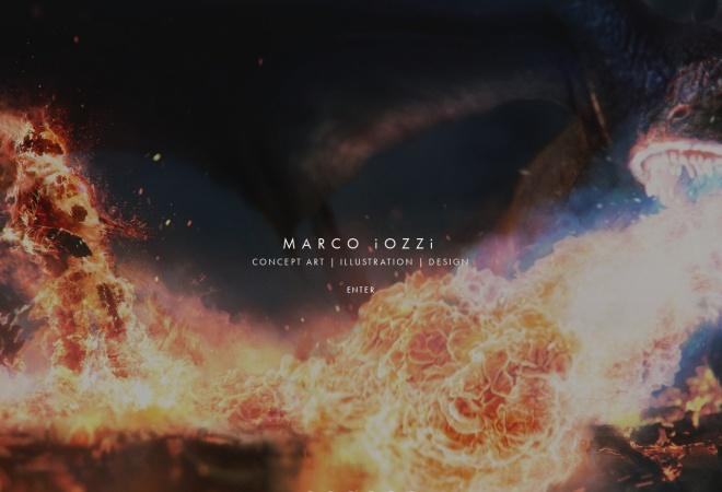 Screenshot of www.marcoiozzi.com