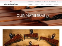 Screenshot of www.marimbaone.com