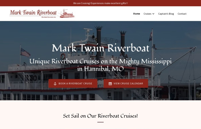 http://www.marktwainriverboat.com/