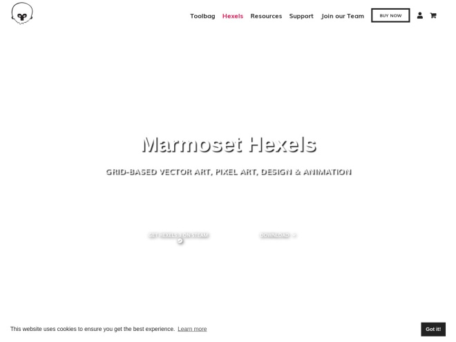 http://www.marmoset.co/hexels