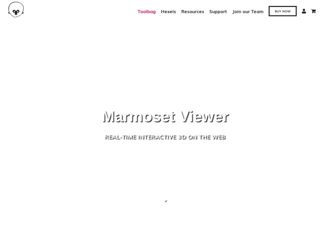 Screenshot of www.marmoset.co