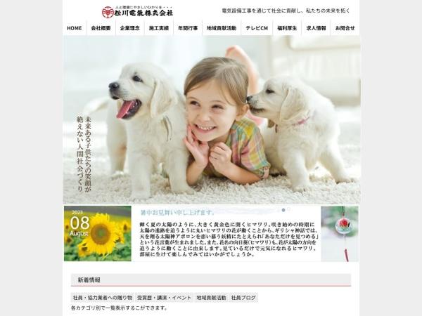 Screenshot of www.matsukawadenki.com