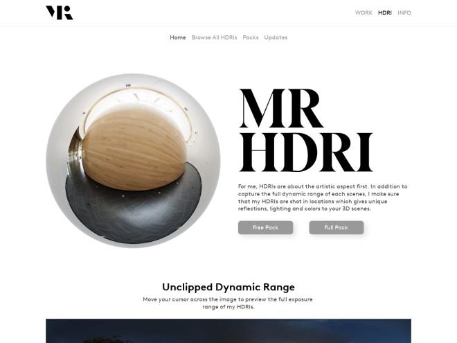 http://www.maximeroz.com/hdri-free-pack