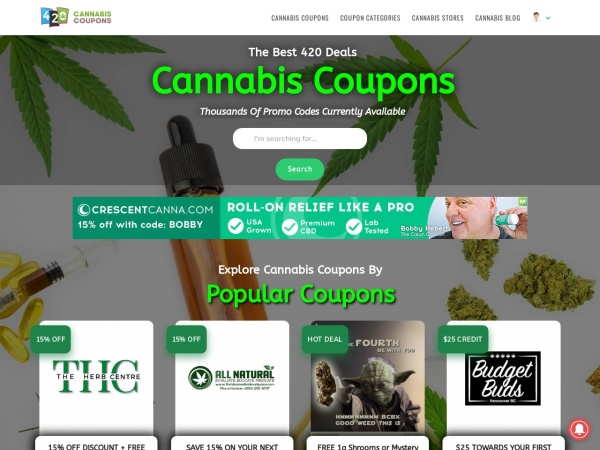 Screenshot of www.medi-green.ca