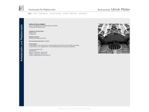 Screenshot of www.medizinrecht-mueller.de