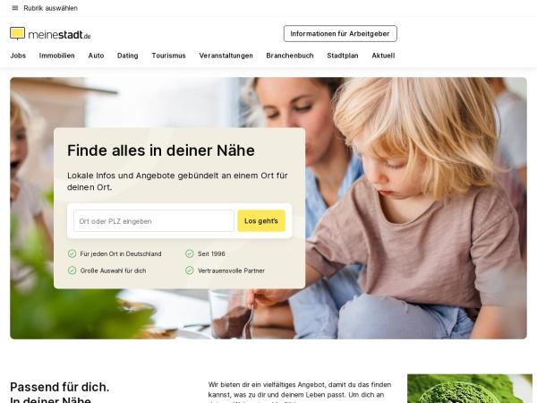 Suchmaschine MeineStadt.de