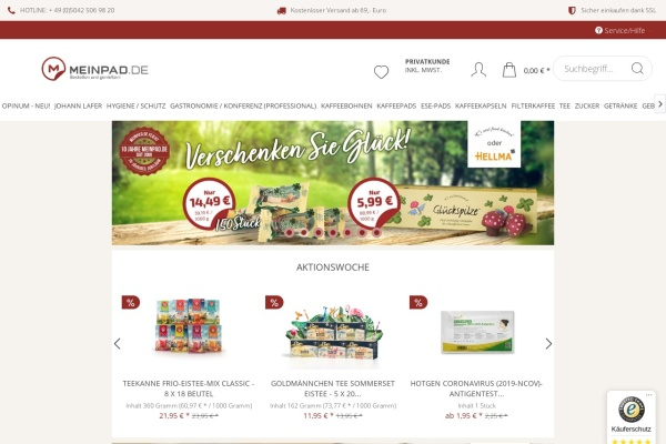 http://www.meinpad.de
