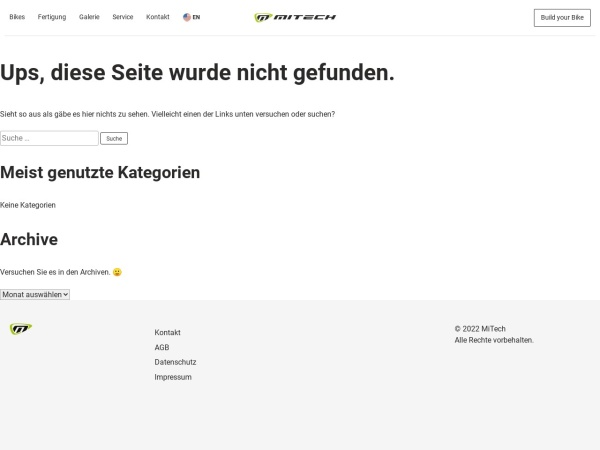 Screenshot of www.mi-tech.de