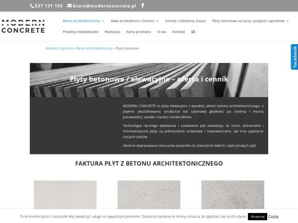 http://www.modernconcrete.pl/oferta/