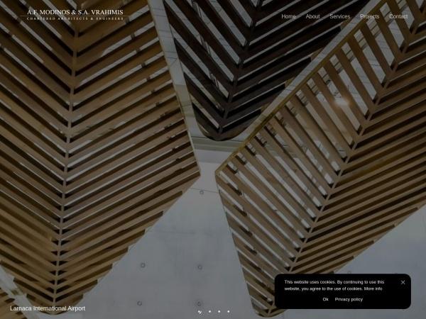 Screenshot of www.modinosvrahimis.com