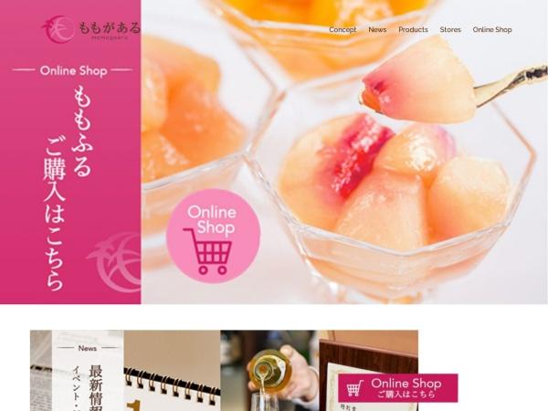 Screenshot of www.momogaaru.co.jp