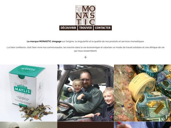 Screenshot of www.monastic-euro.org