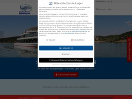 Screenshot of www.ms-brombachsee.com