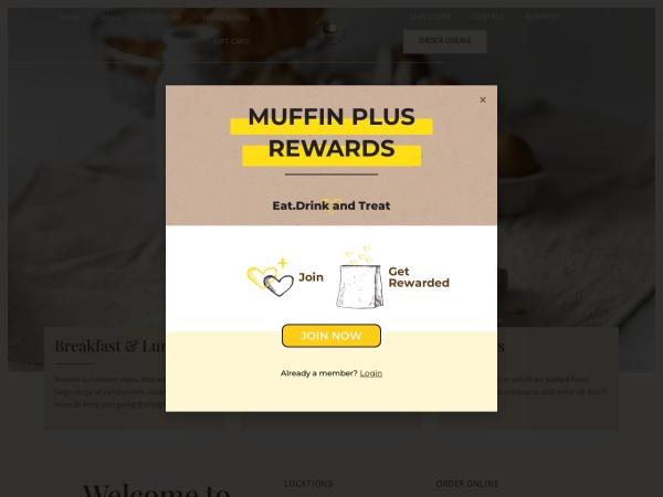 Screenshot of www.muffinplus.com