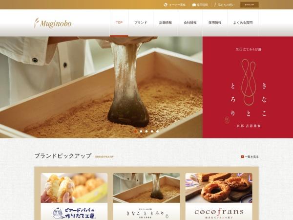 Screenshot of www.muginoho.com