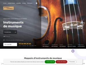 MUSIQUE PASSION, Magasin de musique à Dunkerque