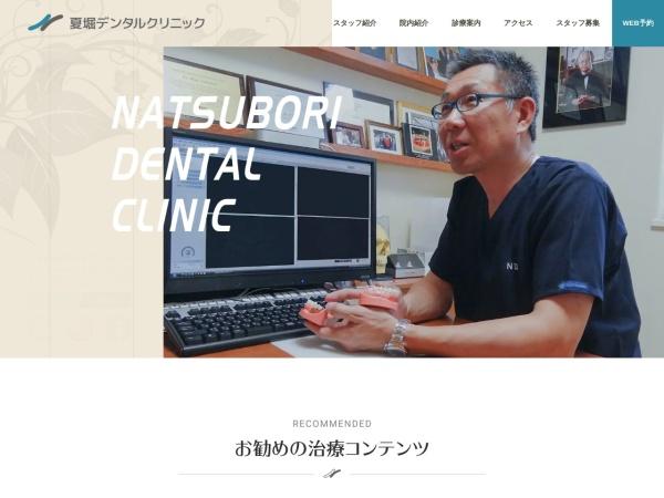 Screenshot of www.natsubori-dc.com