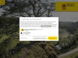 Screenshot of www.naturpark-altmuehltal.de