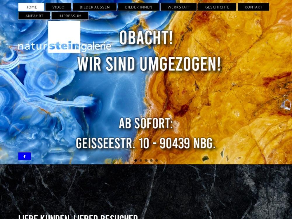 Screenshot of www.natursteingalerie.com