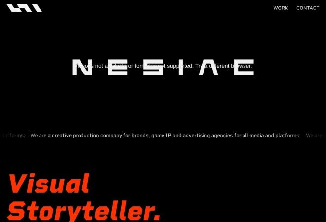 Screenshot of www.nesiac.com
