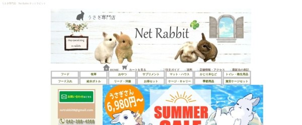 Screenshot of www.netrabi.com