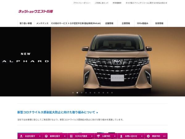 Screenshot of www.netzwest.jp