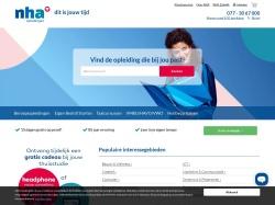 Gratis laptop of € 40,- korting bij NHA opleidingen