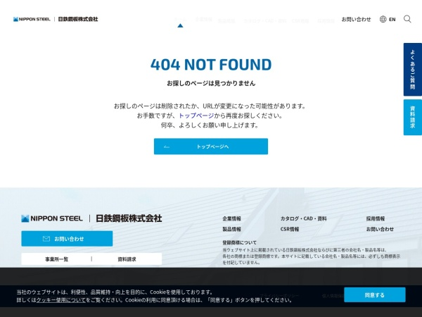 Screenshot of www.nisc-s.co.jp