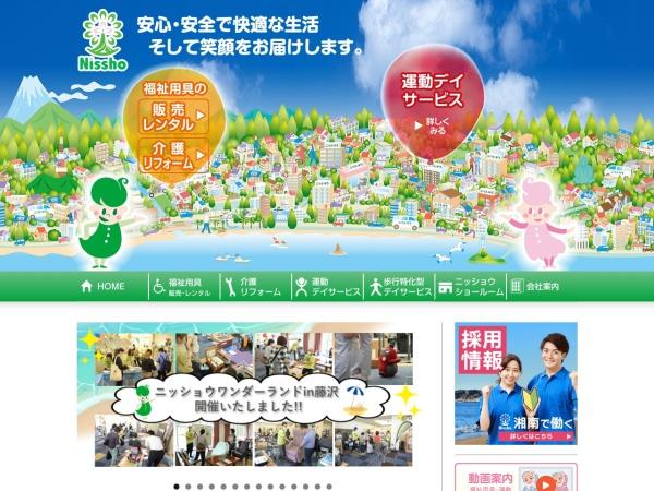Screenshot of www.nissho-inc.com