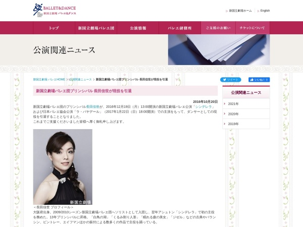 Screenshot of www.nntt.jac.go.jp