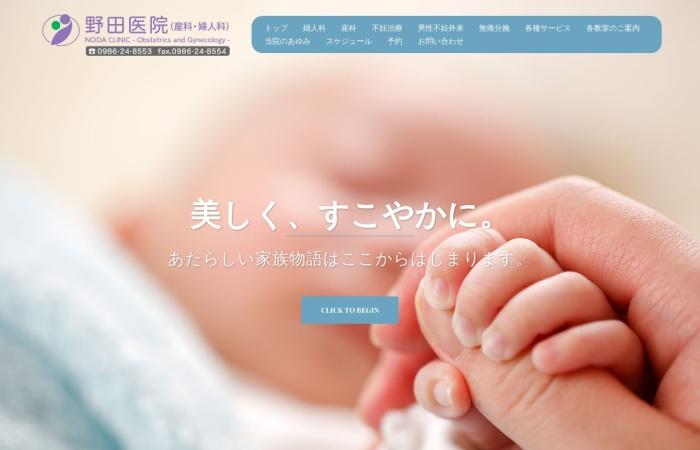Screenshot of www.noda-clinic.jp